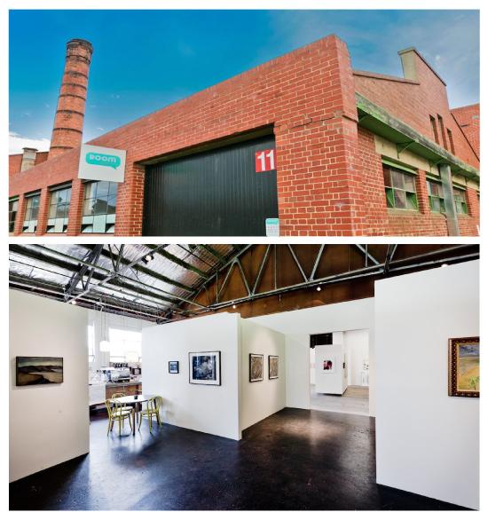 Boom Gallery exterior/interior