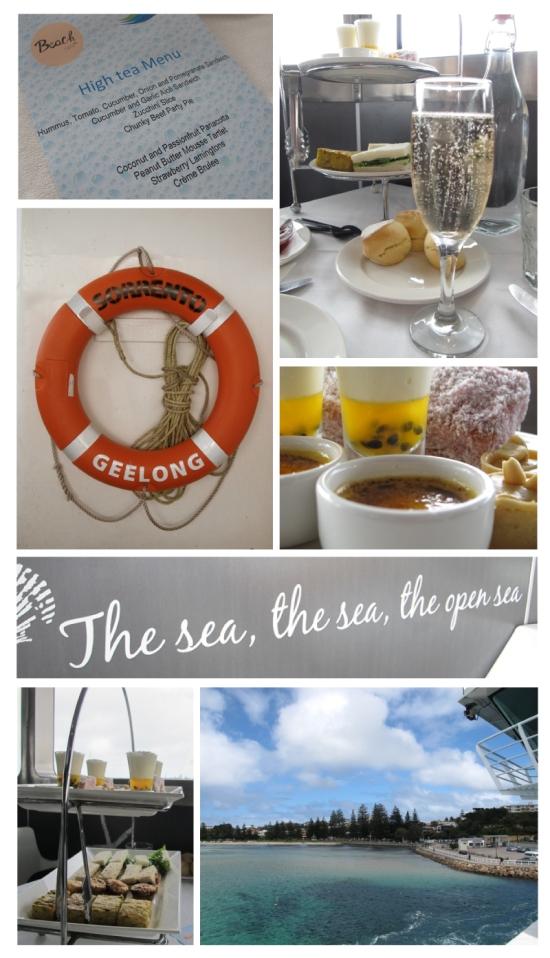 High Tea on the High Seas