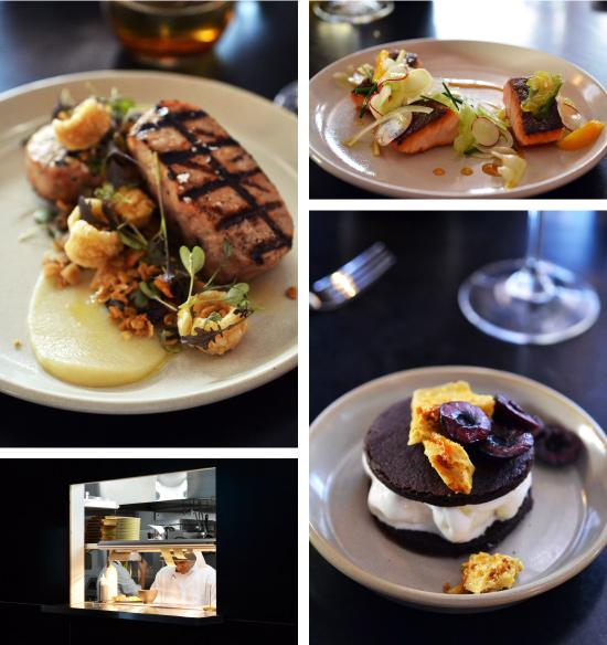 Moriac Pork, Tasmanian Salmon and a naughty ice-cream sandwich!